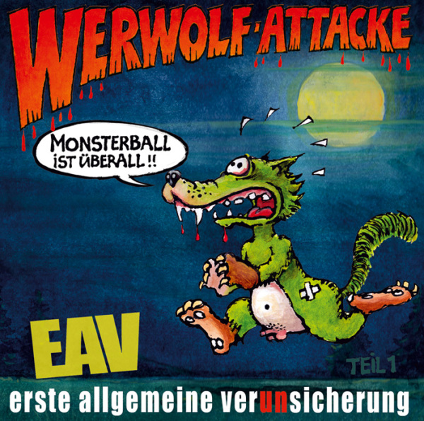 "Das neue EAV-Album ""Werwolf-Attacke"""